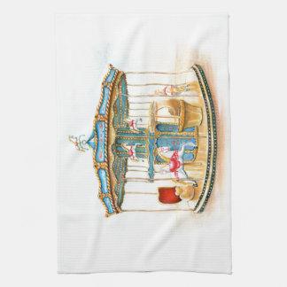 'Carousel' Tea Towel