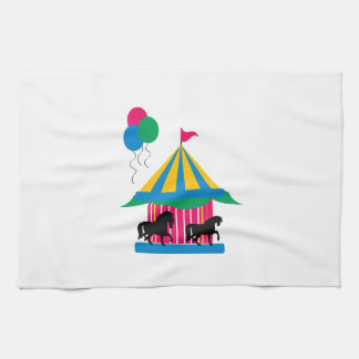 Carousel Tea Towel