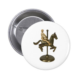 CarouselHorse112709 copy Pinback Button