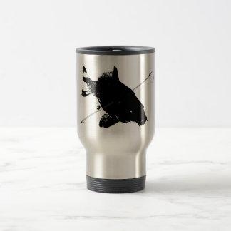 Carp Bowfishing Travel Mug