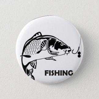 Carp fishing badge
