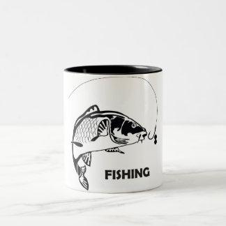 Carp fishing mug