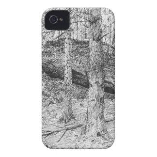 Carpathian Forest Graphic iPhone 4 Case