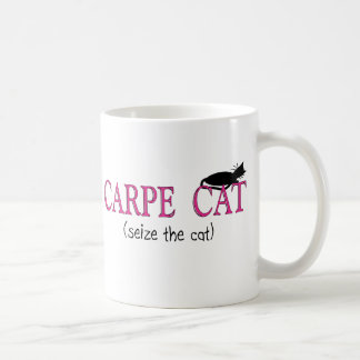 Carpe Cat (Seize The Cat) Gifts Coffee Mug