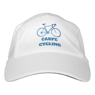 Carpe Cycling, Bicycle Cycling Graphic Hat