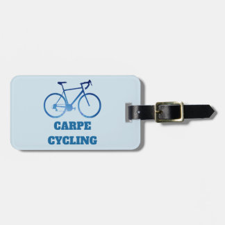 Carpe Cycling, Bicycle Cycling Luggage Tag