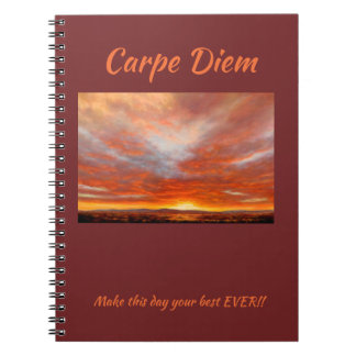 Carpe Diem 80 page Notebook