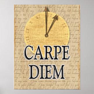 Carpe Diem -- art print