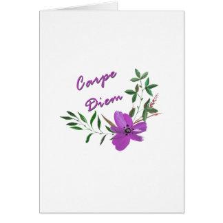Carpe Diem Card