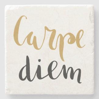 Carpe Diem - Inspirational Stone Coaster