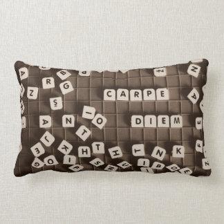 Carpe diem lumbar cushion