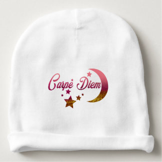 Carpe Diem Moon and Stars Baby Beanie