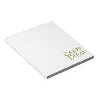 Carpe Diem Notepad