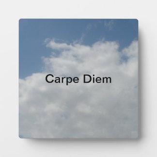 Carpe Diem Plaque