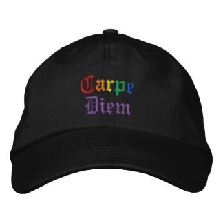 Carpe Diem - Pride Embroidered Hat