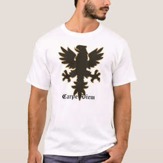 Carpe Diem, Seize the day Eagle T-Shirt
