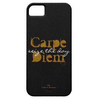 Carpe Diem- seize the day iPhone 5 Case