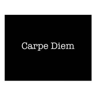 Carpe Diem Seize the Day Quote - Quotes Postcard