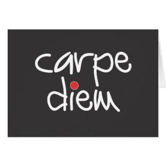 Carpe Diem - Sieze the Day Note Card
