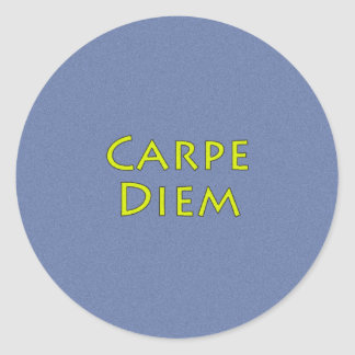 Carpe Diem Stickers