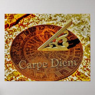 Carpe Diem - Sundial - Art Print