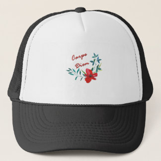 Carpe Diem Trucker Hat