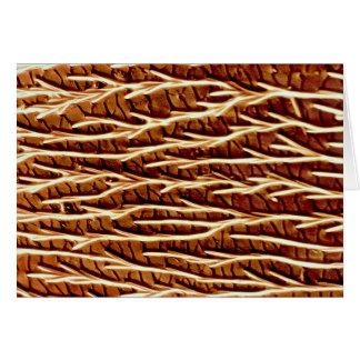 Carpenter ant - back greeting card