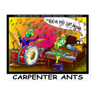 Carpenter Ants Funny Gifts & Collectibles Postcard