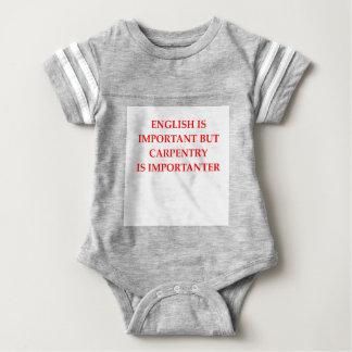 CARPENTER BABY BODYSUIT
