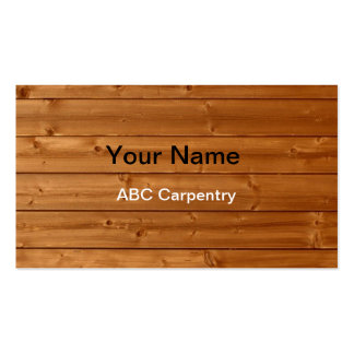 Carpenter Business Cards