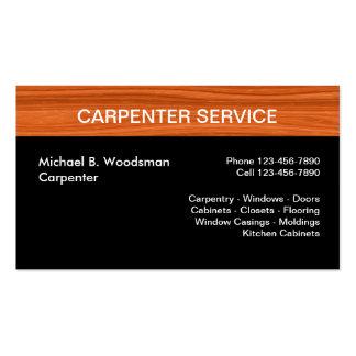 Carpenter Business Cards