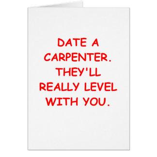 carpenter greeting cards