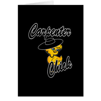 Carpenter Chick #4 Greeting Card