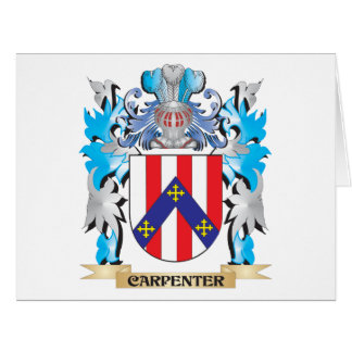 Carpenter Coat of Arms - Family Crest Card