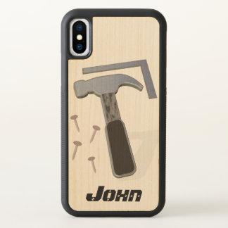 Carpenter   Construction   Personalized iPhone X Case