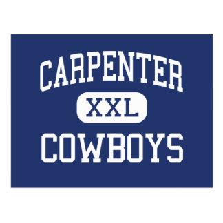 Carpenter Cowboys Middle School Plano Texas Postcard