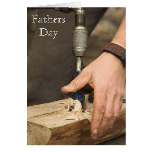 Carpenter Fathers Day Card