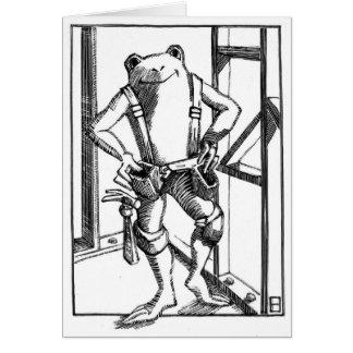 carpenter greeting card