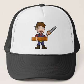 Carpenter Joiner Cabinetmaker Craftsman Worker Trucker Hat