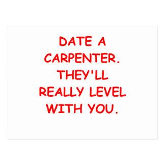 carpenter post card