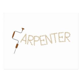 Carpenter Postcard