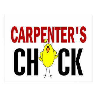 Carpenter's Chick Post Card