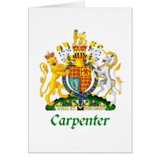 Carpenter Shield of Great Britain Cards