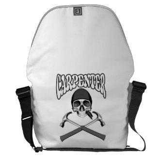 Carpenter Skull Hammers Courier Bag