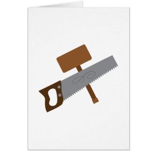 Carpenter Tools Card