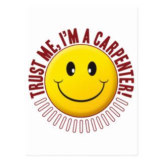 Carpenter Trust Smiley Postcard