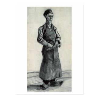 Carpenter with Apron, Vincent van Gogh Postcard
