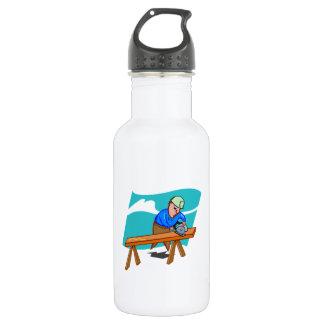Carpenter Working 532 Ml Water Bottle