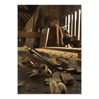 Carpenters  Busy Workshop Invitation