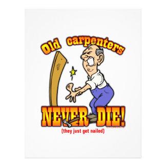 Carpenters Flyer Design